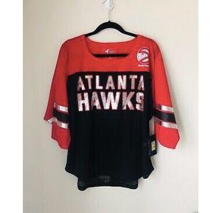NWT GIII Sports NBA Atlanta Hawks